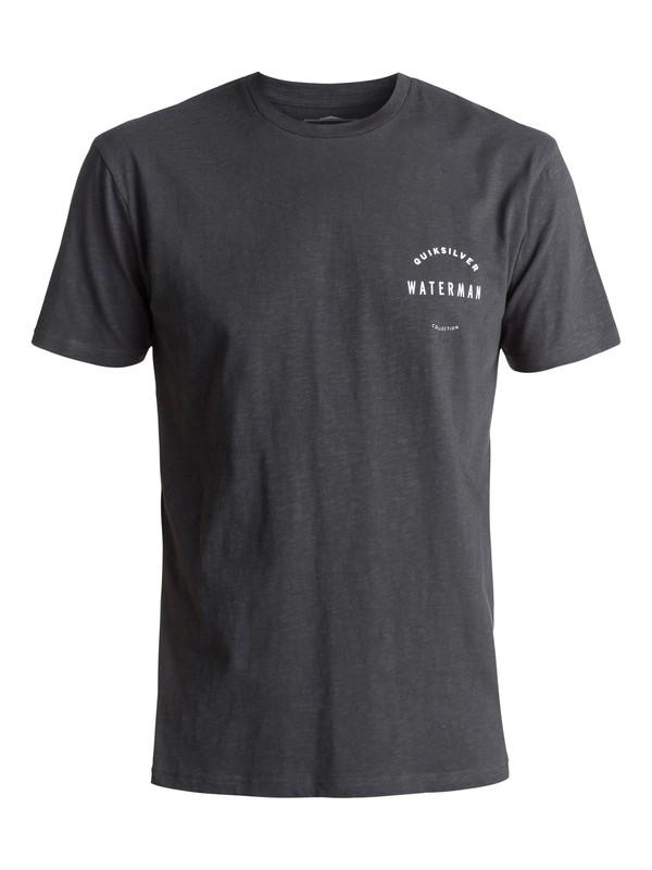 0 Waterman Water Defined - T-Shirt Black EQMZT03024 Quiksilver