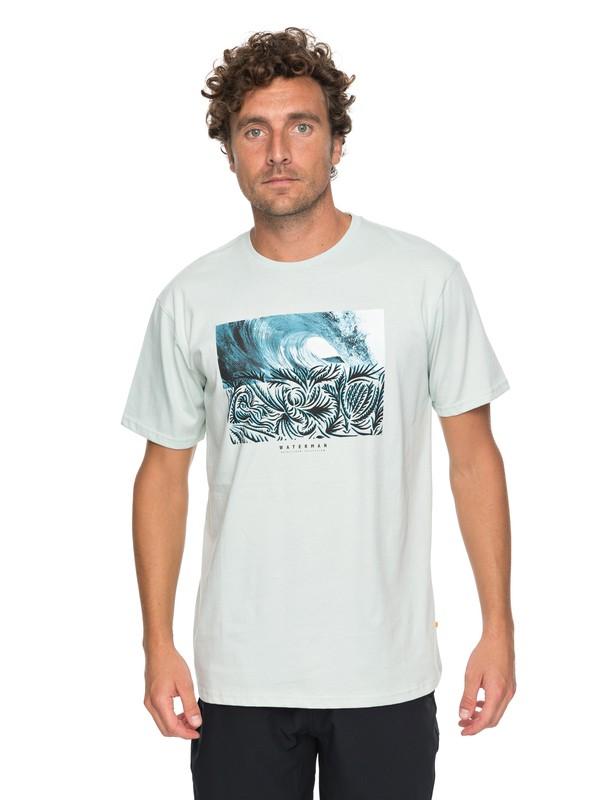0 Waterman No Ko Loko - T Shirt col rond Bleu EQMZT03069 Quiksilver