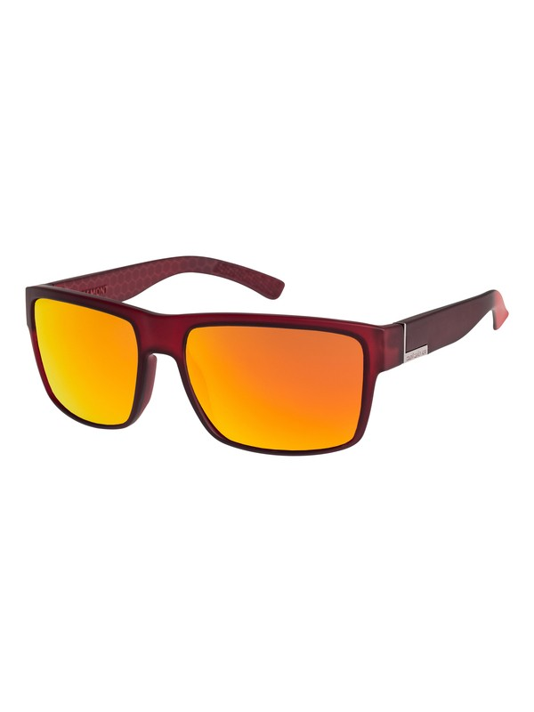 0 Ridgemont - Sunglasses Red EQS1177 Quiksilver