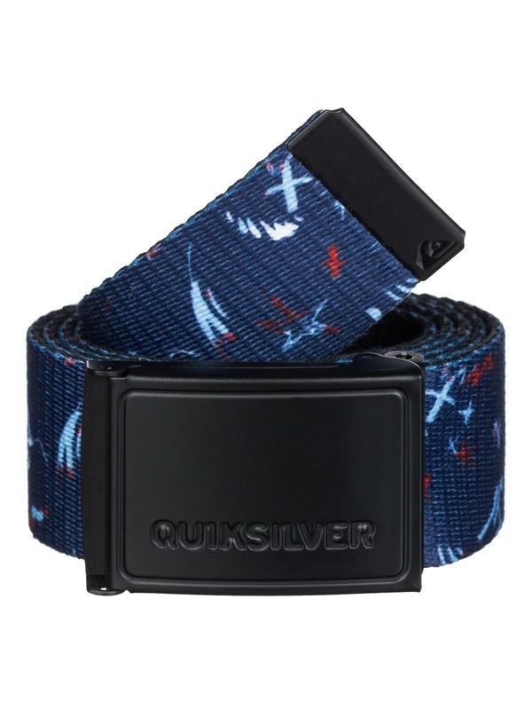 0 The Badge Belt  EQYAA03030 Quiksilver