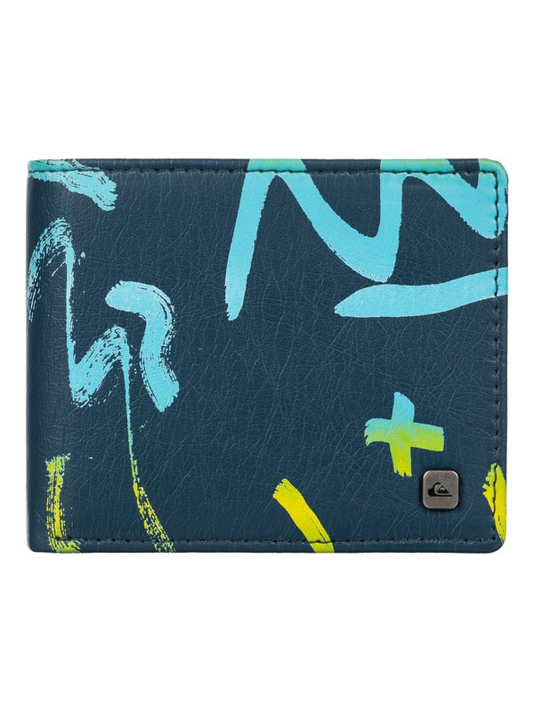 0 Mixed Up Wallet  EQYAA03156 Quiksilver