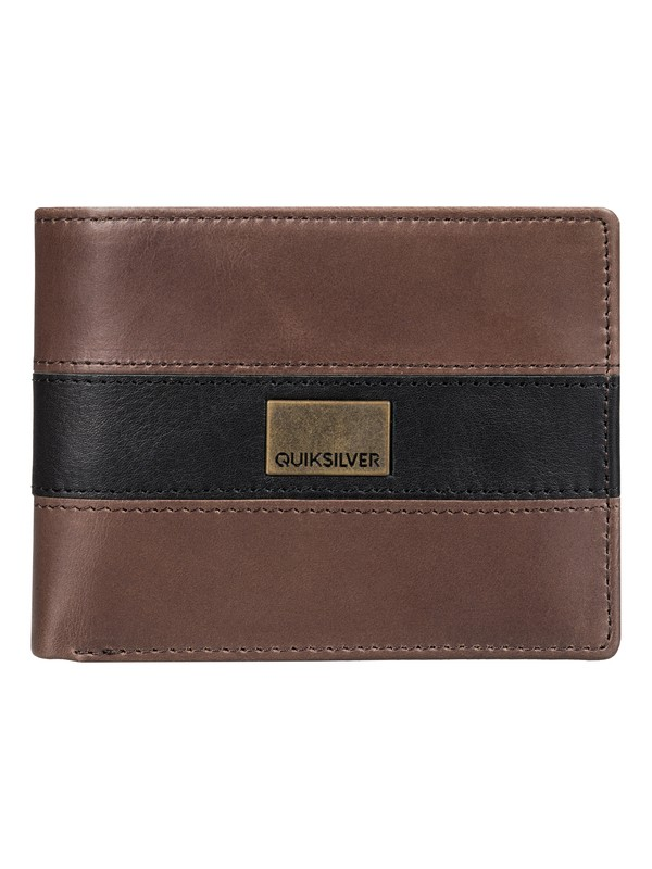 0 A Class  Leather Wallet  EQYAA03250 Quiksilver