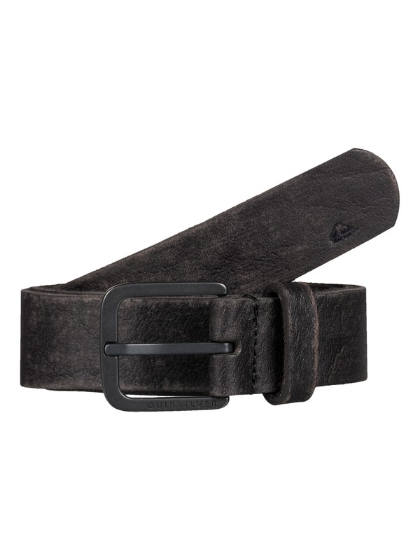 0 Edge Type Leather Belt  EQYAA03275 Quiksilver