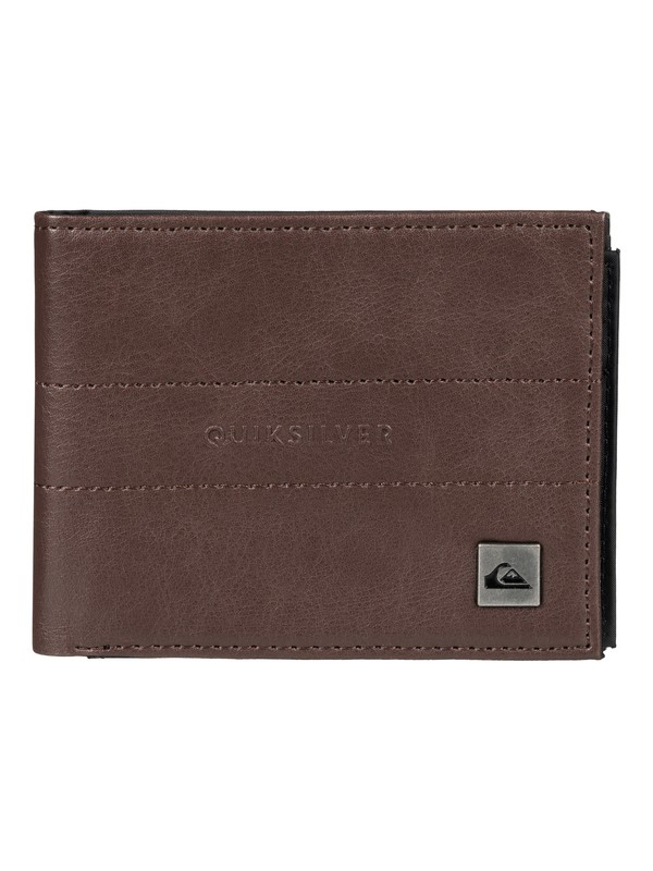 0 Stitched - Portefeuille Marron EQYAA03281 Quiksilver