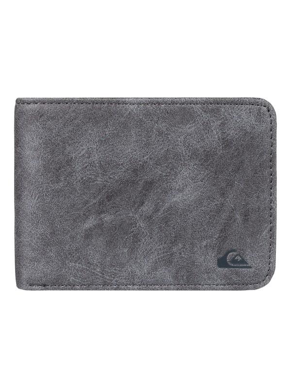 0 Slim Vintage Wallet Black EQYAA03300 Quiksilver