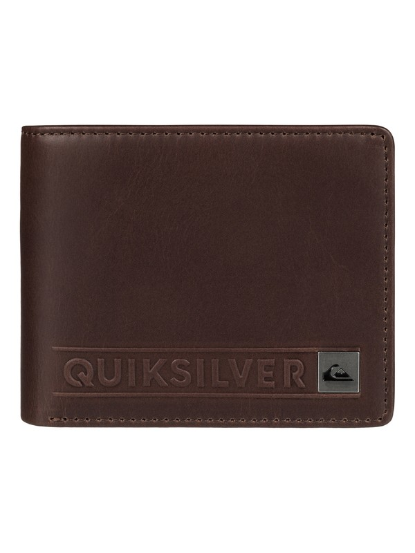 0 Mack Leather Wallet  EQYAA03312 Quiksilver