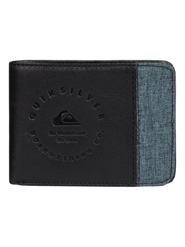 0 Mix Fabric Leather Wallet  EQYAA03316 Quiksilver