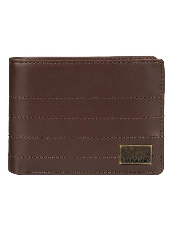 0 Stylin Leather Wallet  EQYAA03317 Quiksilver