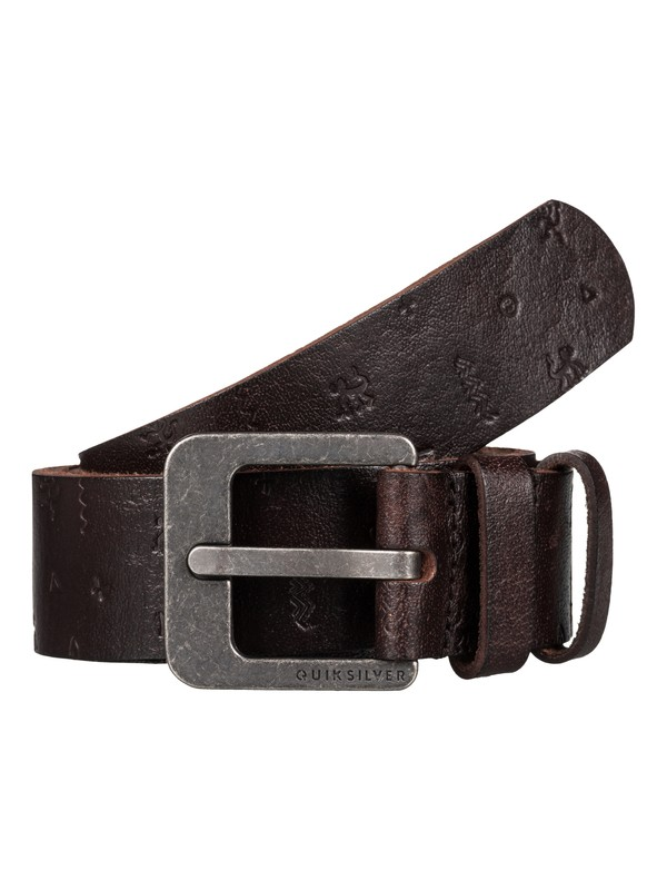 0 South Cape - Ceinture en cuir Marron EQYAA03338 Quiksilver