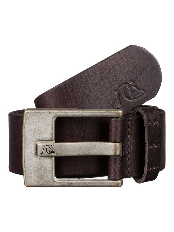 0 Section Leather Belt  EQYAA03348 Quiksilver