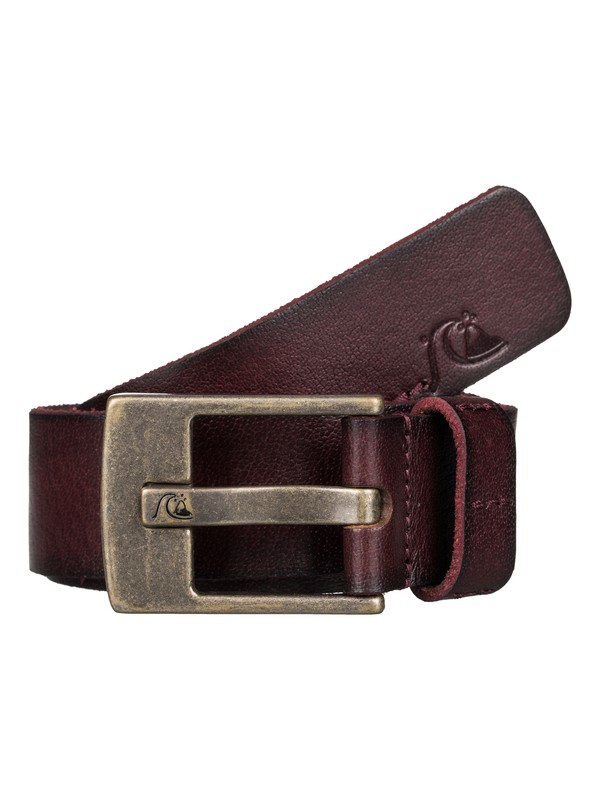 0 Section  Leather Belt  EQYAA03362 Quiksilver
