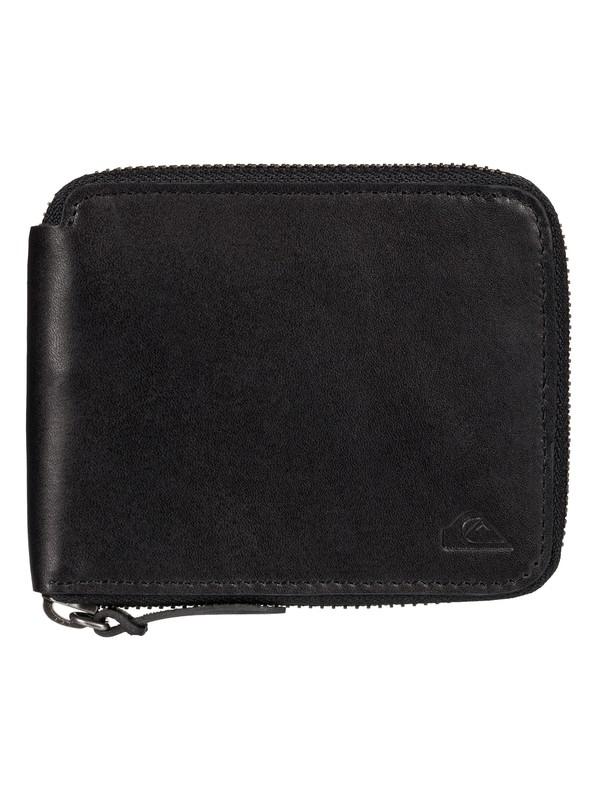 0 Full - Zip Leather Wallet  EQYAA03365 Quiksilver