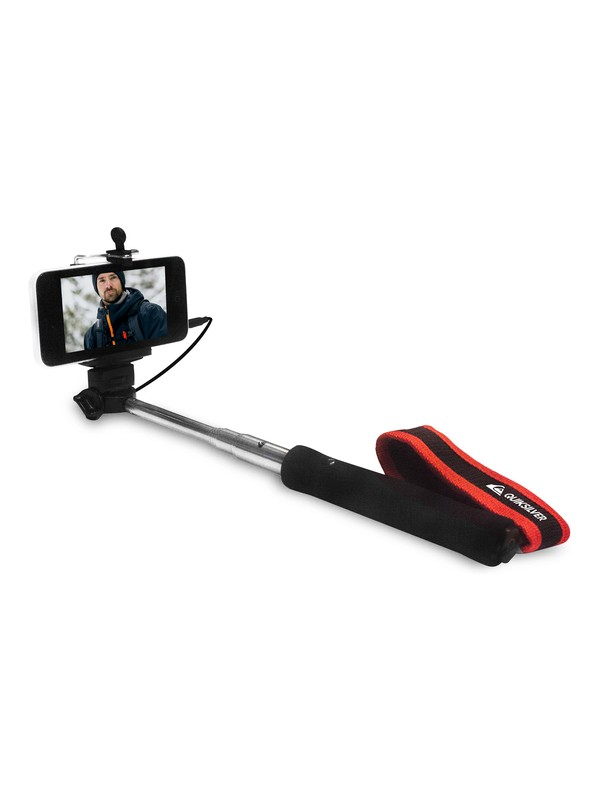 0 Selfie Quiksilver - Perche selfie extensible Noir EQYAA03366 Quiksilver