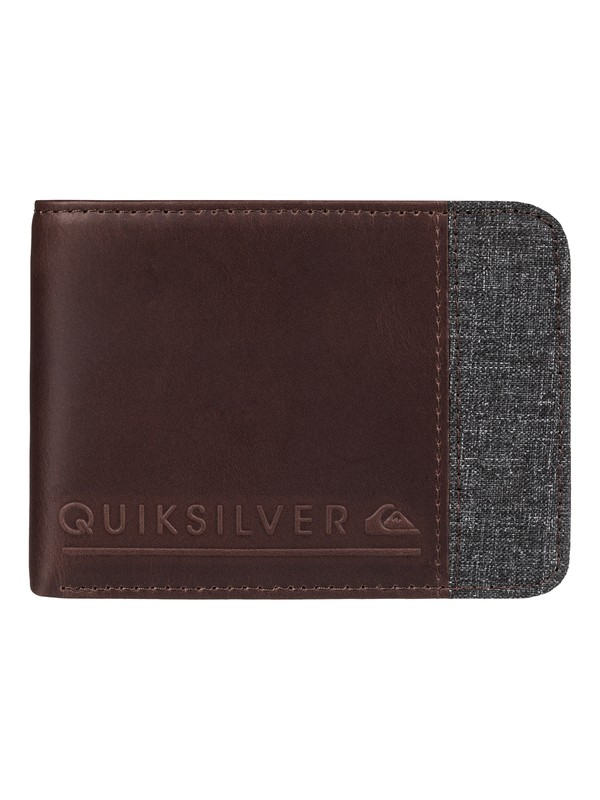 0 Mix Fabric Leather Wallet  EQYAA03374 Quiksilver