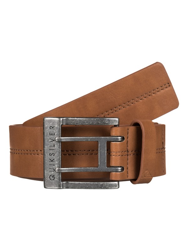 0 Stitchy Fake-Leather Belt  EQYAA03412 Quiksilver