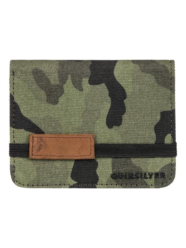 0 Monochrome Wallet  EQYAA03422 Quiksilver