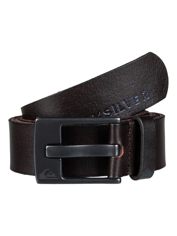 0 The Everyday Leather Belt Brown EQYAA03450 Quiksilver
