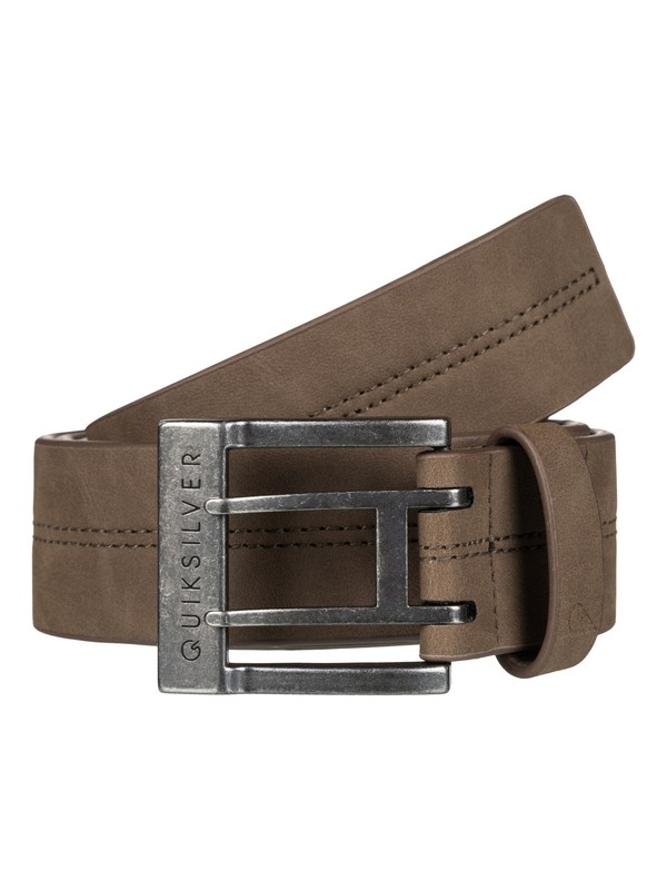0 Stitch 2 Faux-Leather Belt  EQYAA03454 Quiksilver