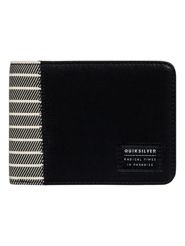 0 Slim Vintage Plus - Portefeuille Noir EQYAA03519 Quiksilver
