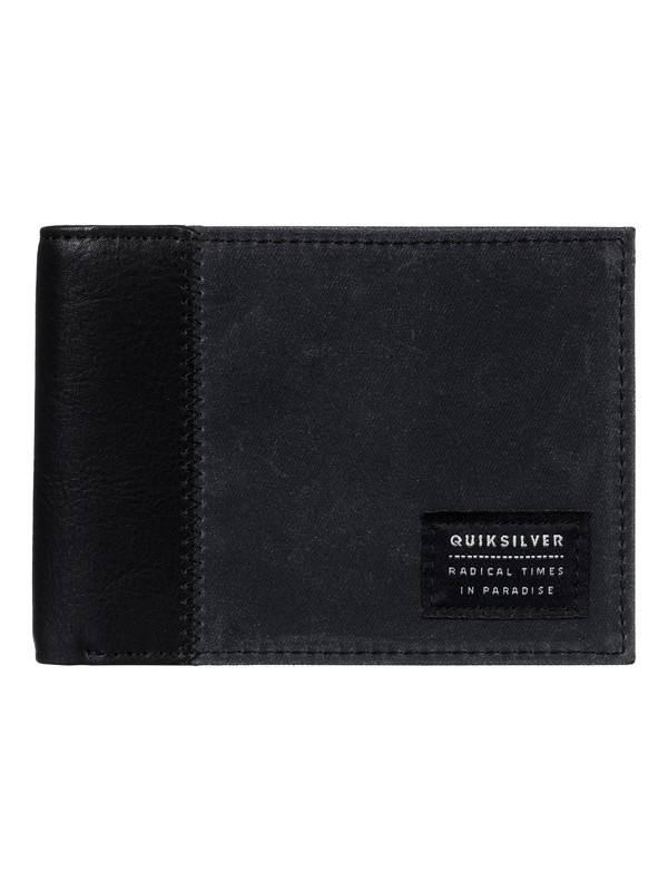 0 Freshness Plus Wallet Black EQYAA03520 Quiksilver