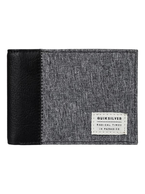 0 Freshness Plus Wallet Grey EQYAA03520 Quiksilver