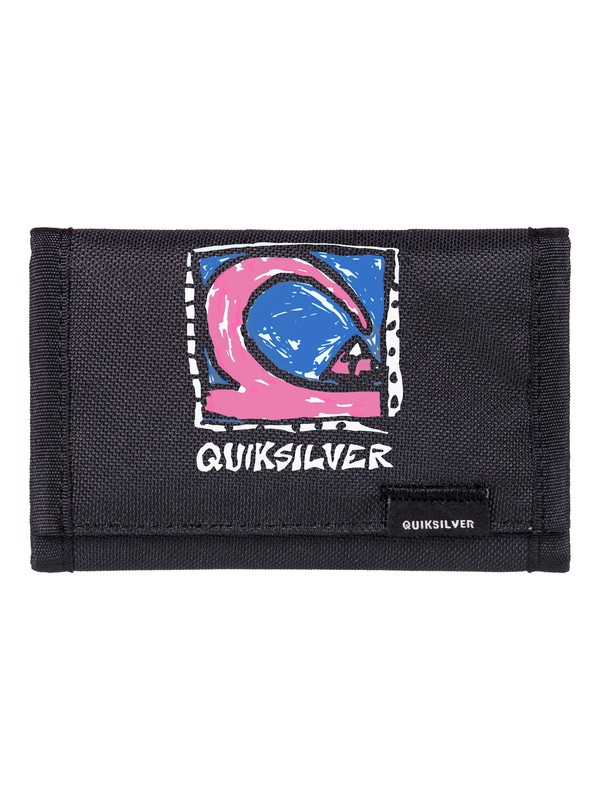 0 The Everydaily - Portefeuille 3 volets Bleu EQYAA03530 Quiksilver