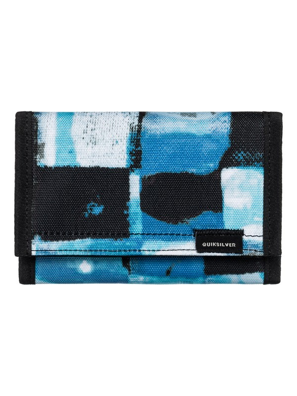 0 The Everydaily - Tri-Fold Wallet Blue EQYAA03530 Quiksilver