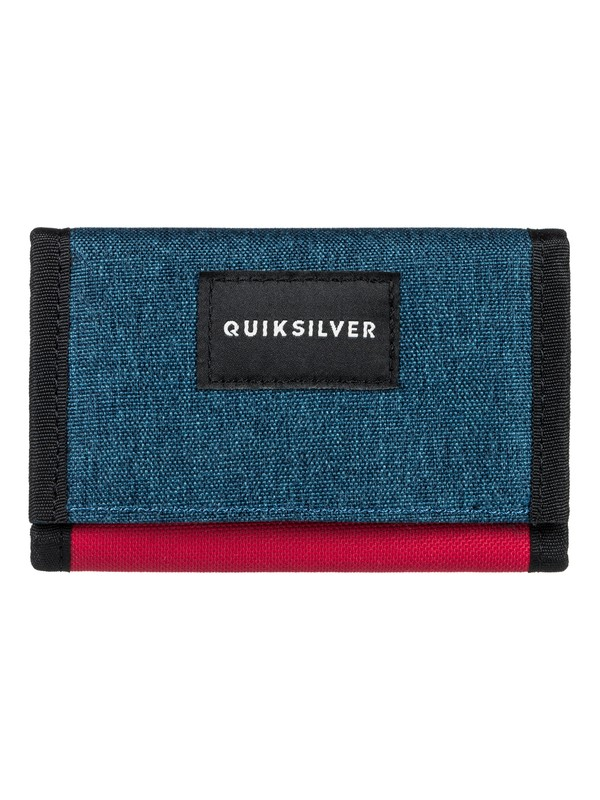 0 The Everydaily - Tri-Fold Wallet Red EQYAA03530 Quiksilver