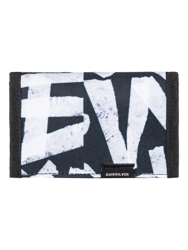 0 The Everydaily - Tri-Fold Wallet White EQYAA03530 Quiksilver