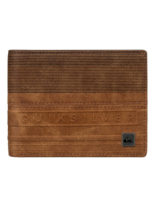 0 Everyday Stripe - Portefeuille Marron EQYAA03532 Quiksilver