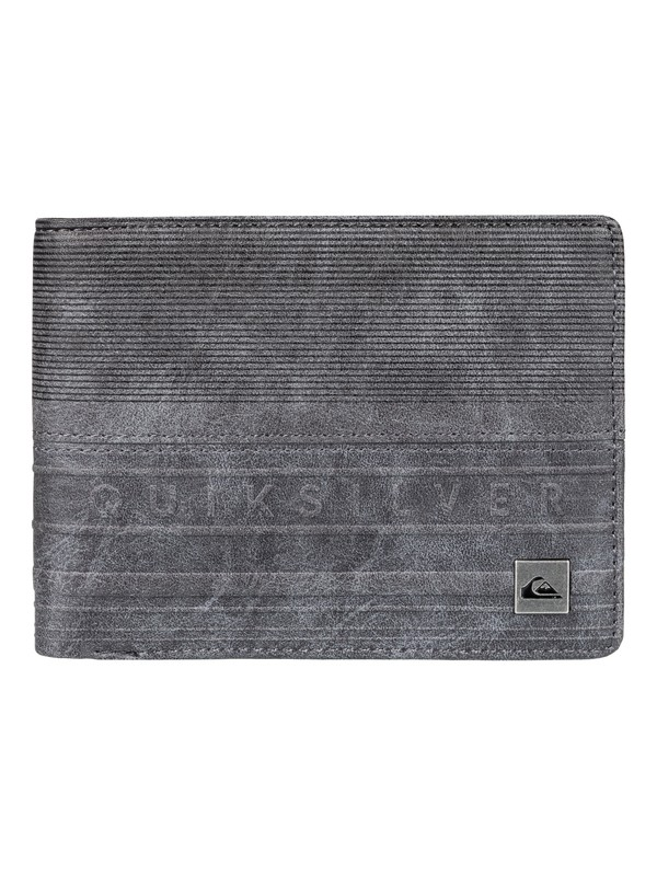 0 Everyday Stripe - Portemonnee Black EQYAA03532 Quiksilver