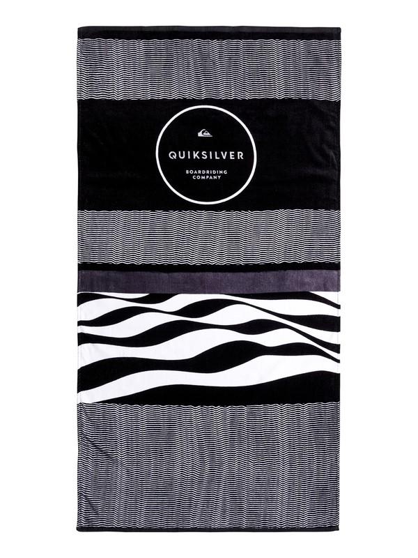 0 Freshness - Beach Towel Black EQYAA03551 Quiksilver