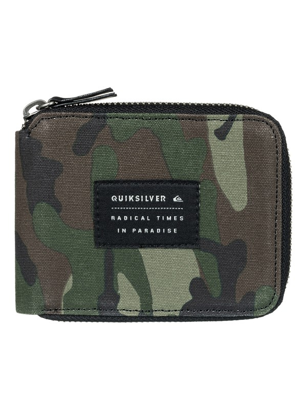 0 Everyday Full Wallet Beige EQYAA03555 Quiksilver