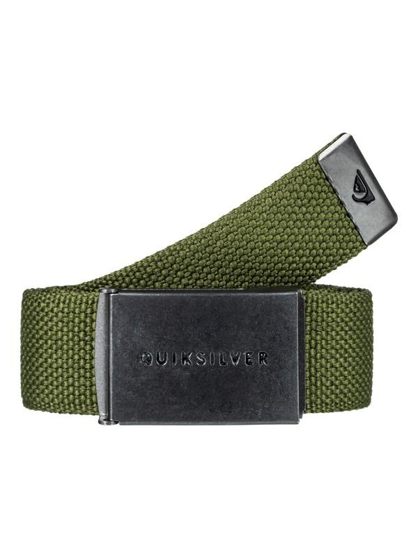 0 Principle - Verstevigde Riem Green EQYAA03559 Quiksilver