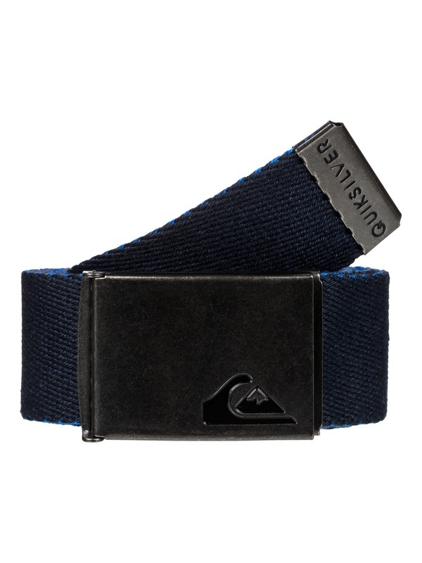 0 The Jam Reversible Webbing Belt Blue EQYAA03560 Quiksilver