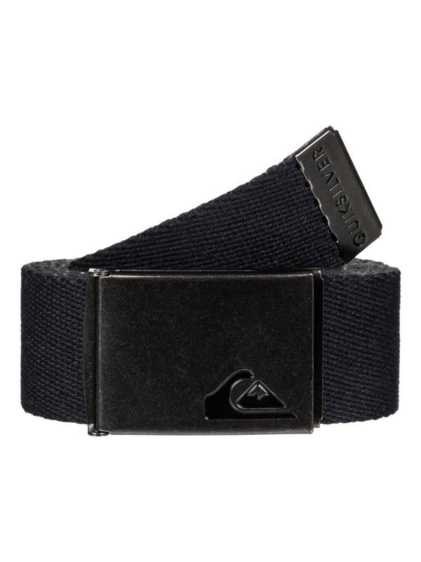 0 The Jam Reversible Webbing Belt Black EQYAA03560 Quiksilver