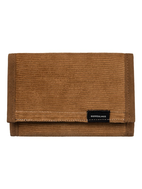 0 The Everydaily Plus Wallet Brown EQYAA03565 Quiksilver