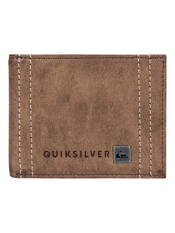 0 Stitchy Wallet Brown EQYAA03566 Quiksilver