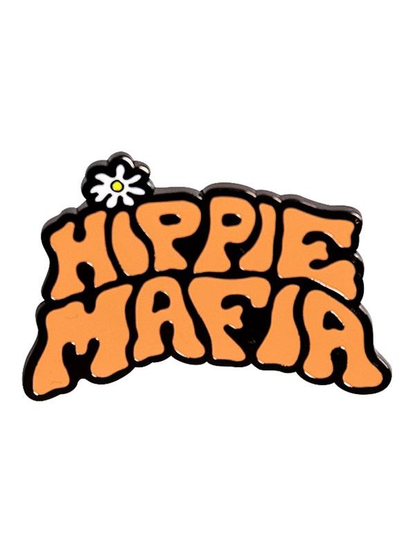 0 Hippie Mafia - Badges en émail  EQYAA03582 Quiksilver