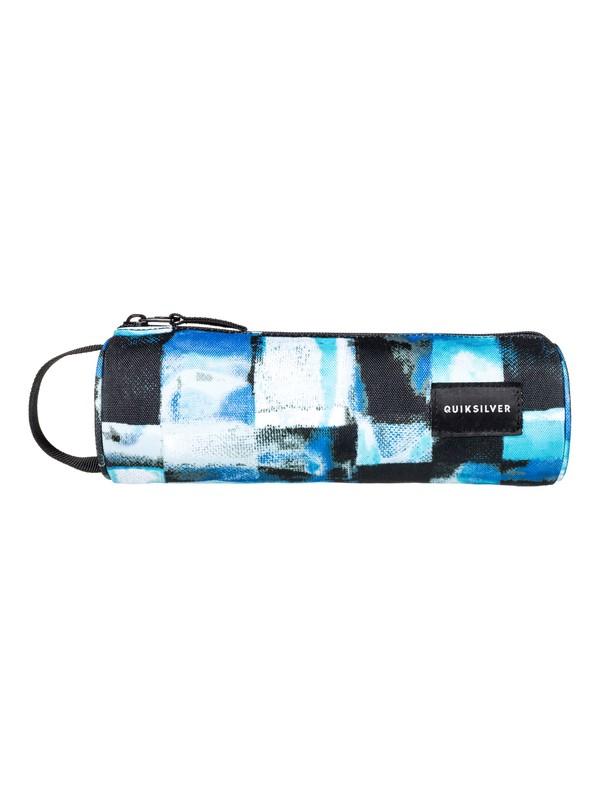 0 Pencilo - Trousse en métal Bleu EQYAA03593 Quiksilver