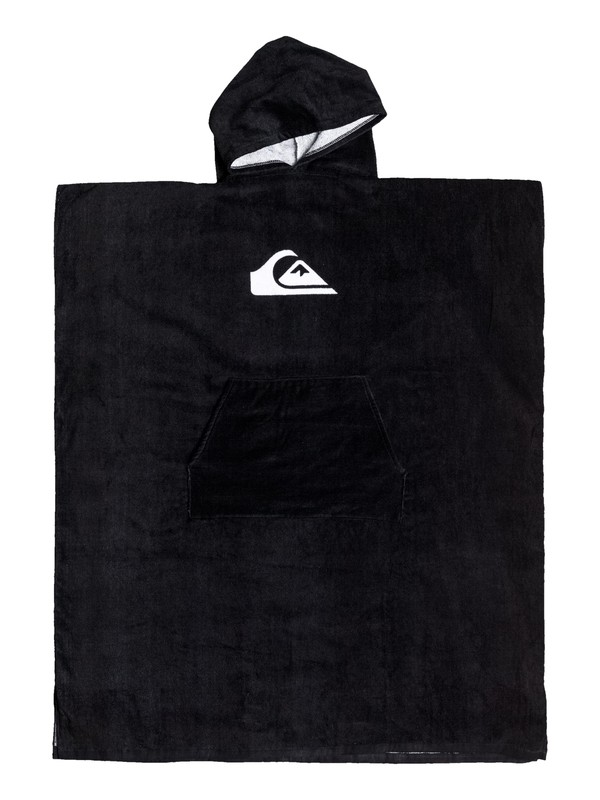 0 Hoody Hooded Changing Towel Black EQYAA03595 Quiksilver