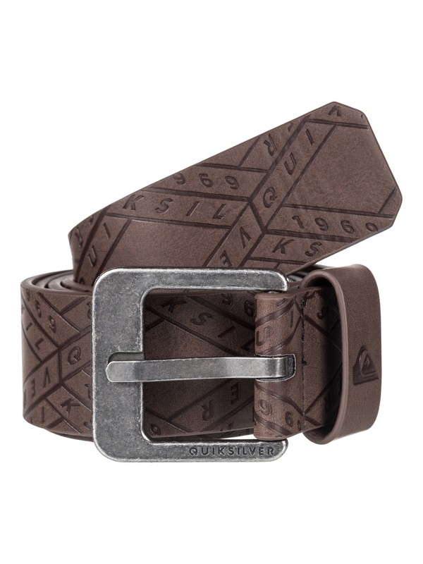 0 Always Primo Faux-Leather Belt Brown EQYAA03598 Quiksilver