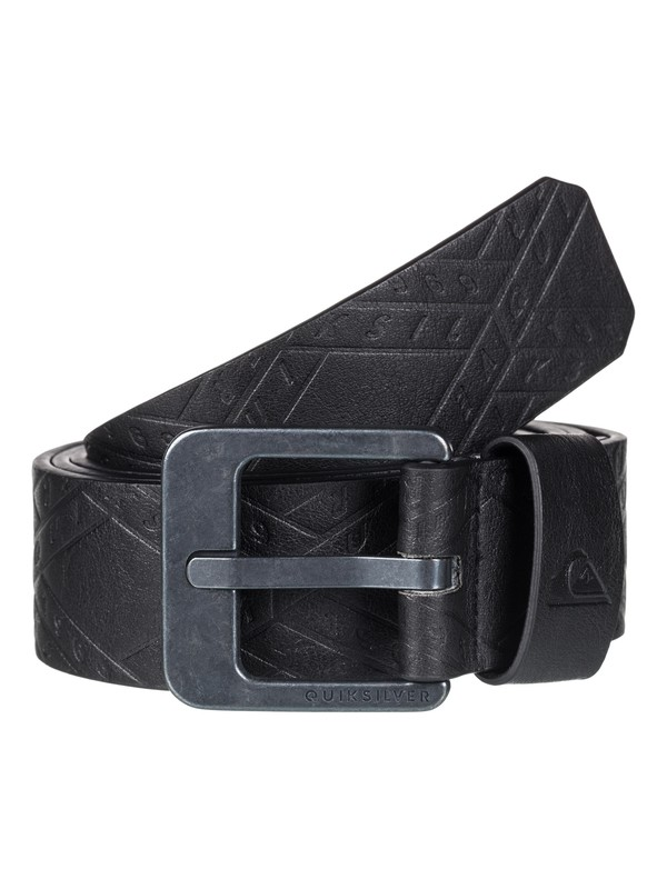 0 Always Primo Faux-Leather Belt Black EQYAA03598 Quiksilver