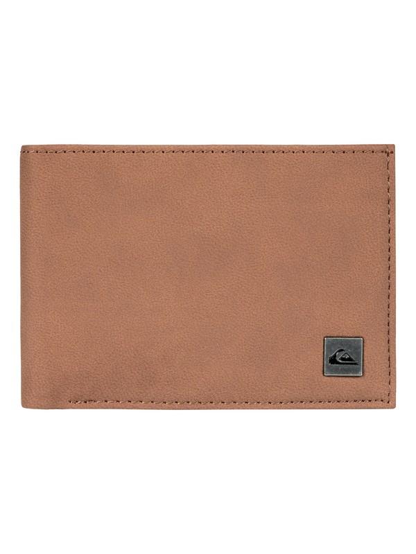 0 Men's Carmul Tri-Fold Wallet Brown EQYAA03618 Quiksilver
