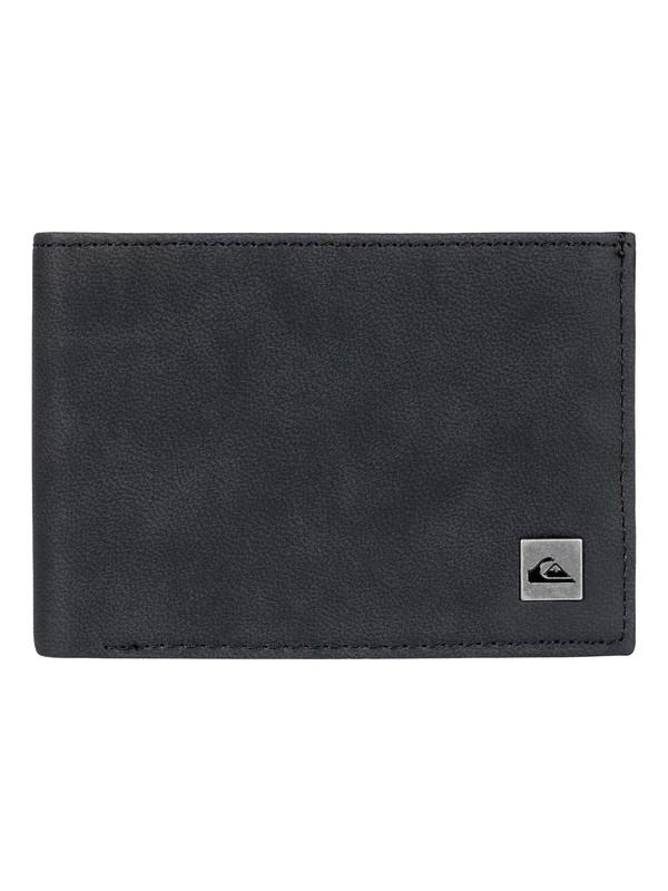 0 Men's Carmul Tri-Fold Wallet Black EQYAA03618 Quiksilver