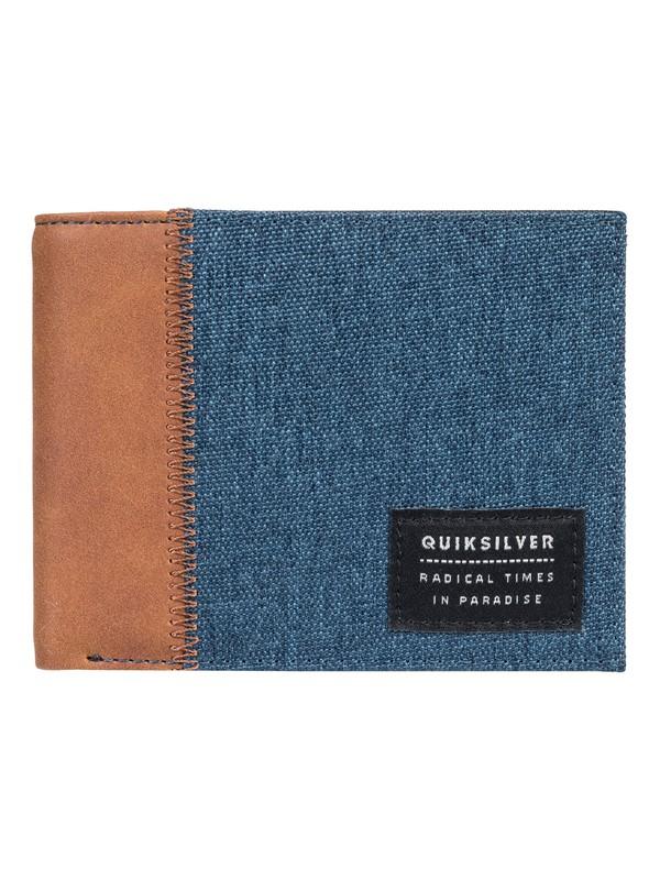 0 Freshness Plus II - portefeuille à deux volets Bleu EQYAA03645 Quiksilver