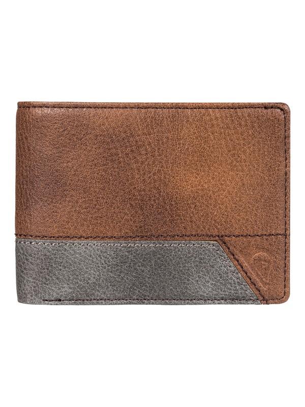 0 Men's Supply Slim II Bi-Fold Wallet  EQYAA03651 Quiksilver