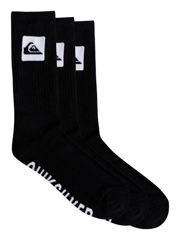 0 Quiksilver - Mi-chaussettes Noir EQYAA03669 Quiksilver