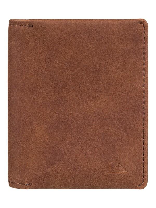0 Quiksilver - Bi-Fold Wallet Brown EQYAA03673 Quiksilver