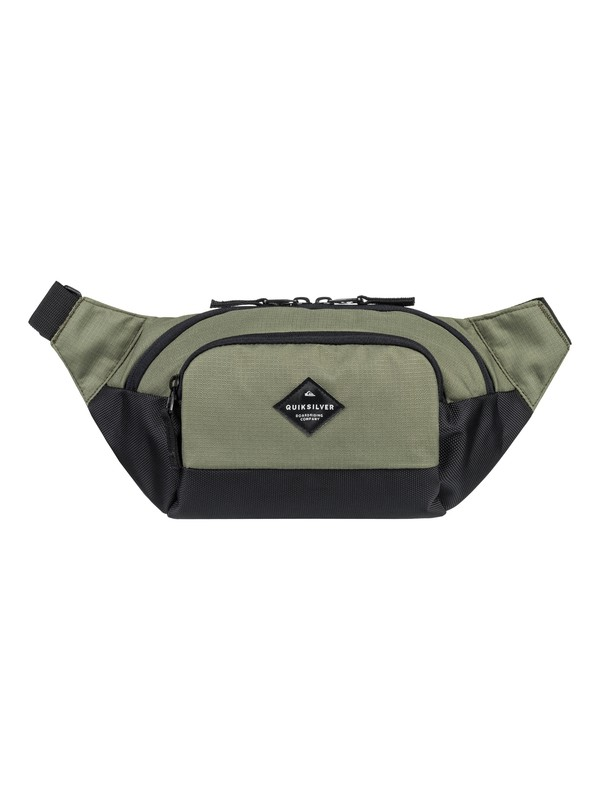 0 Lone Walker 3 L - Fanny Pack Brown EQYBA03064 Quiksilver